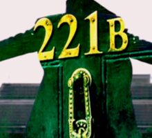 Sherlock 221B  Sticker