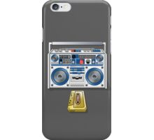 Retro Star Wars Boom box/Ghetto Blaster R2-D2 C-3PO iPhone Case/Skin