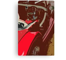 Streamlined Curviture Canvas Print