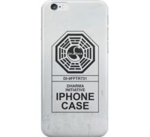 Dharma Initiative: Grunge iPhone Case/Skin
