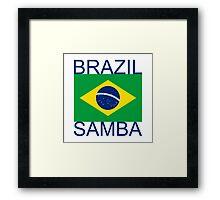 Brazil Samba Framed Print