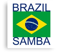 Brazil Samba Canvas Print