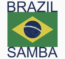 Brazil Samba Kids Tee