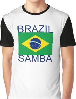 Brazil Samba Graphic T-Shirt