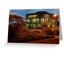 The Macs Under Lights Greeting Card