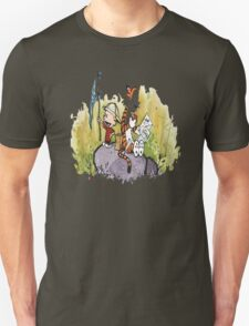 Calvin And Hobbes Embodied The Voice of The Lonely Child T-Shirt