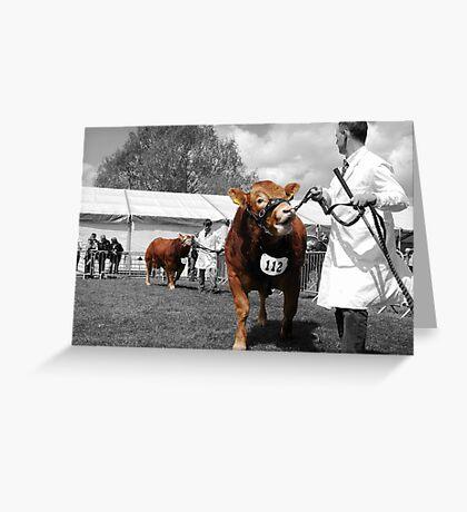 Northumberland Show 2012 Greeting Card