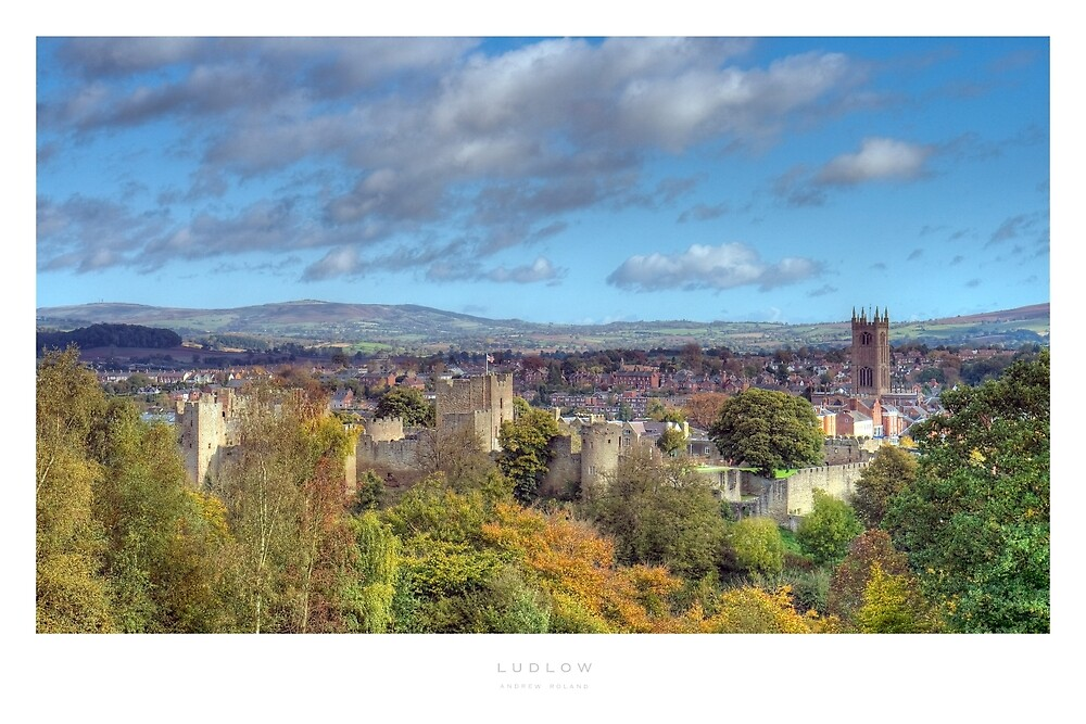 Ludlow, Shropshire by Andrew Roland