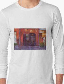 Waiting, L'Isle Sur la Sorgue, Provence Long Sleeve T-Shirt