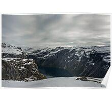 Ringedalsvatnet fjord Poster