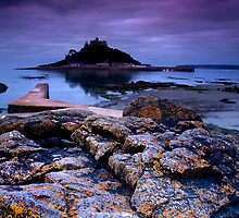 """Dawn Over St Michael's Mount"" by Peter Sutton"