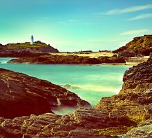 Godrevy Lighthouse. by Peter Sutton
