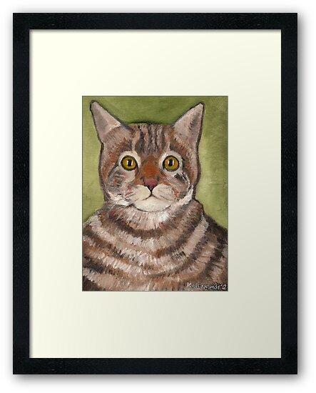 Bill the cat by Kostas Koutsoukanidis