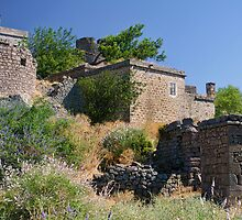 Historical Houses At Behramkale  / ASSOS – Turkey by Kuzeytac