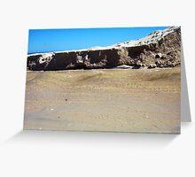 River Beach Greeting Card