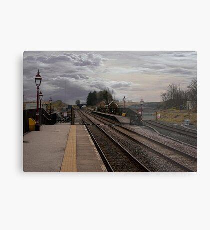 Countryside Station Metal Print