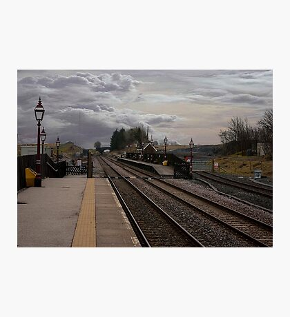 Countryside Station Photographic Print