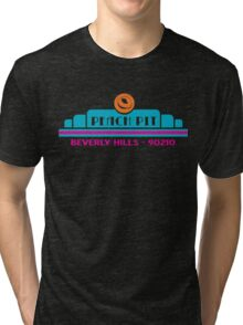 Peach Pit- Beverly Hills 90210 Tri-blend T-Shirt