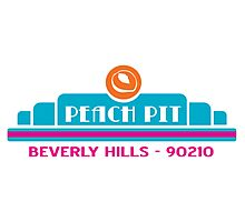 Peach Pit- Beverly Hills 90210 Photographic Print