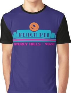 Peach Pit- Beverly Hills 90210 Graphic T-Shirt