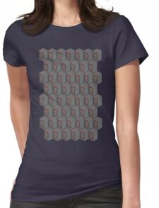Flux Tessellate Womens Fitted T-Shirt
