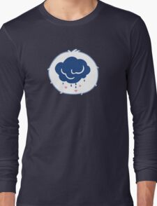 Grumpy Bear - Carebears - cartoon logo Long Sleeve T-Shirt