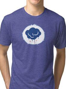 Grumpy Bear - Carebears - cartoon logo Tri-blend T-Shirt