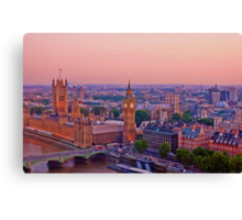 Houses of Parliament at Sunset Canvas Print