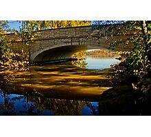 Bridge Over the Reflection Photographic Print