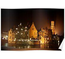 Frosty Bruges  Poster