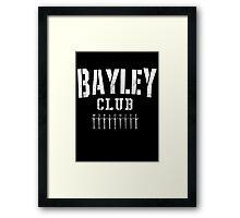 Bayley Club Framed Print