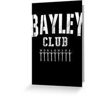 Bayley Club Greeting Card