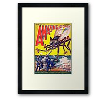 Comic cover Framed Print