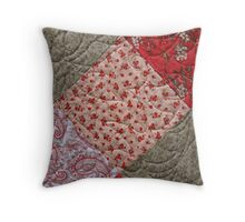 Patching Things Up Throw Pillow
