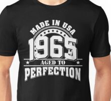 1965-Aged to perfection Unisex T-Shirt