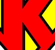 Superman K Sticker
