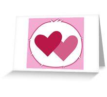 Care-a-lot Bear - Carebears - Cartoon Logo Greeting Card