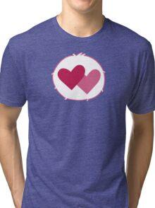Care-a-lot Bear - Carebears - Cartoon Logo Tri-blend T-Shirt