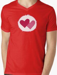 Care-a-lot Bear - Carebears - Cartoon Logo Mens V-Neck T-Shirt