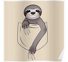 Pocket Sloth Poster