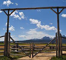 Sawtooth Mountains - Stanley, ID by CADavis