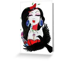 circus crow  Greeting Card