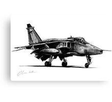 Jaguar Fighter Bomber Jet Canvas Print