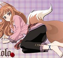 Proud Wolf Holo by densha