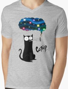 Catnip Mens V-Neck T-Shirt