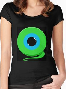 Jack's Septic Eye Women's Fitted Scoop T-Shirt