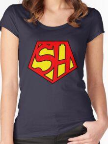 Super Sherlock Women's Fitted Scoop T-Shirt