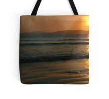 Sunset On Rossnowlagh Beach Tote Bag