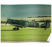Spitfire ML407(The Grace Spitfire) Poster