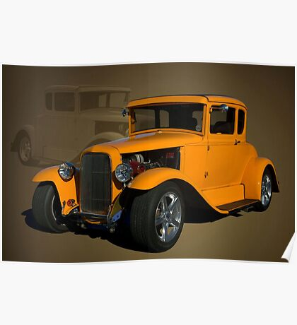 1930 Ford Hot Rod coupe Poster